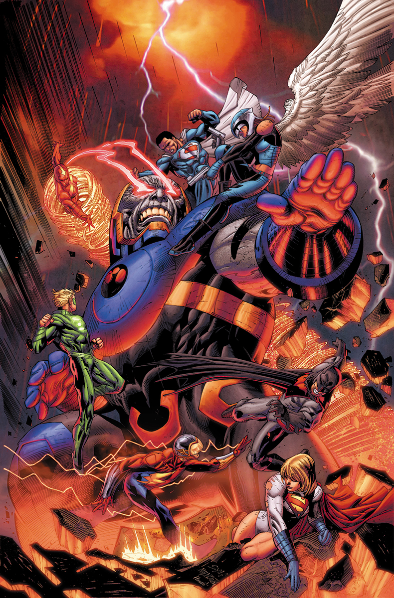 Earth 2 Worlds End #26 Variante