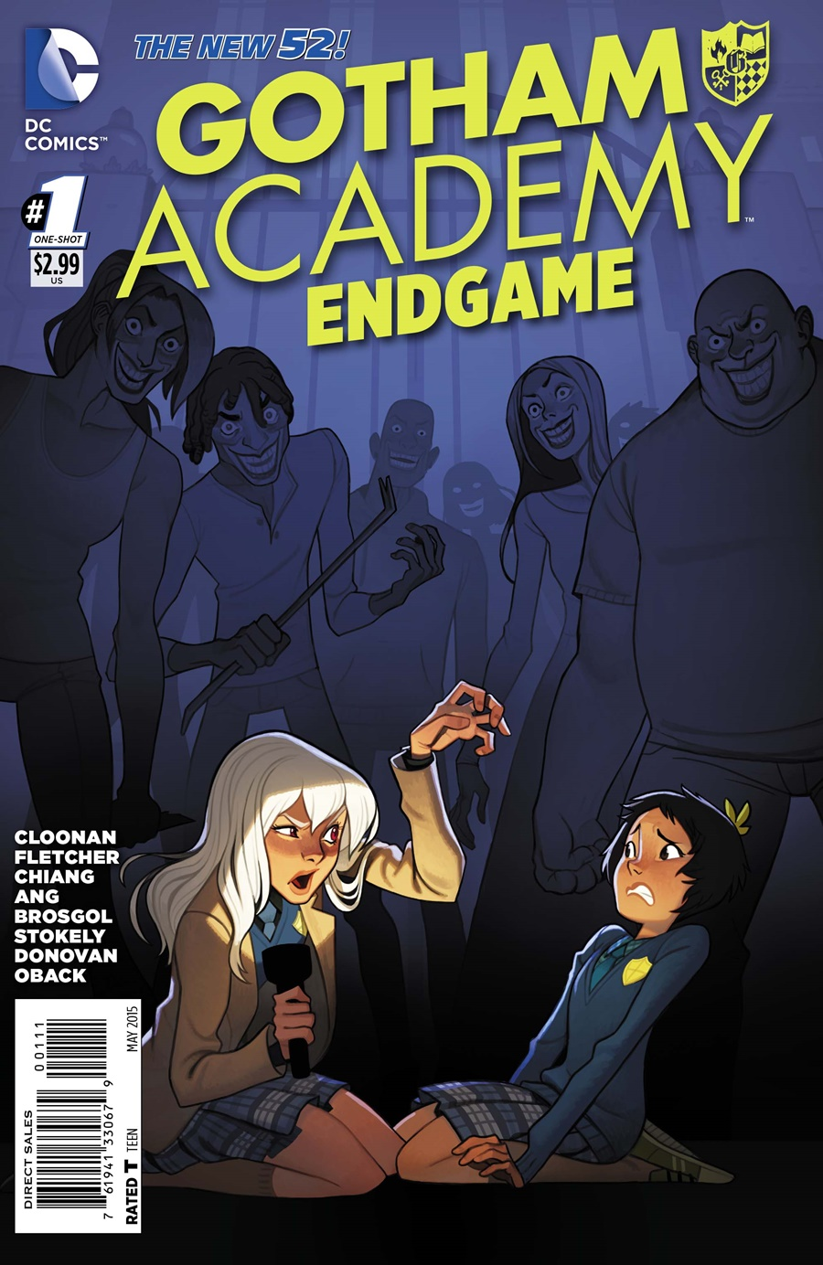 Gotham Academy Endgame New 52 DC Comics French