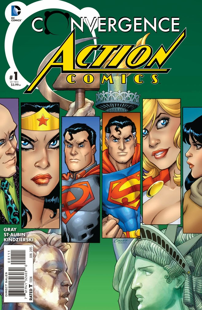 Preview Convergence : Action Comics #1