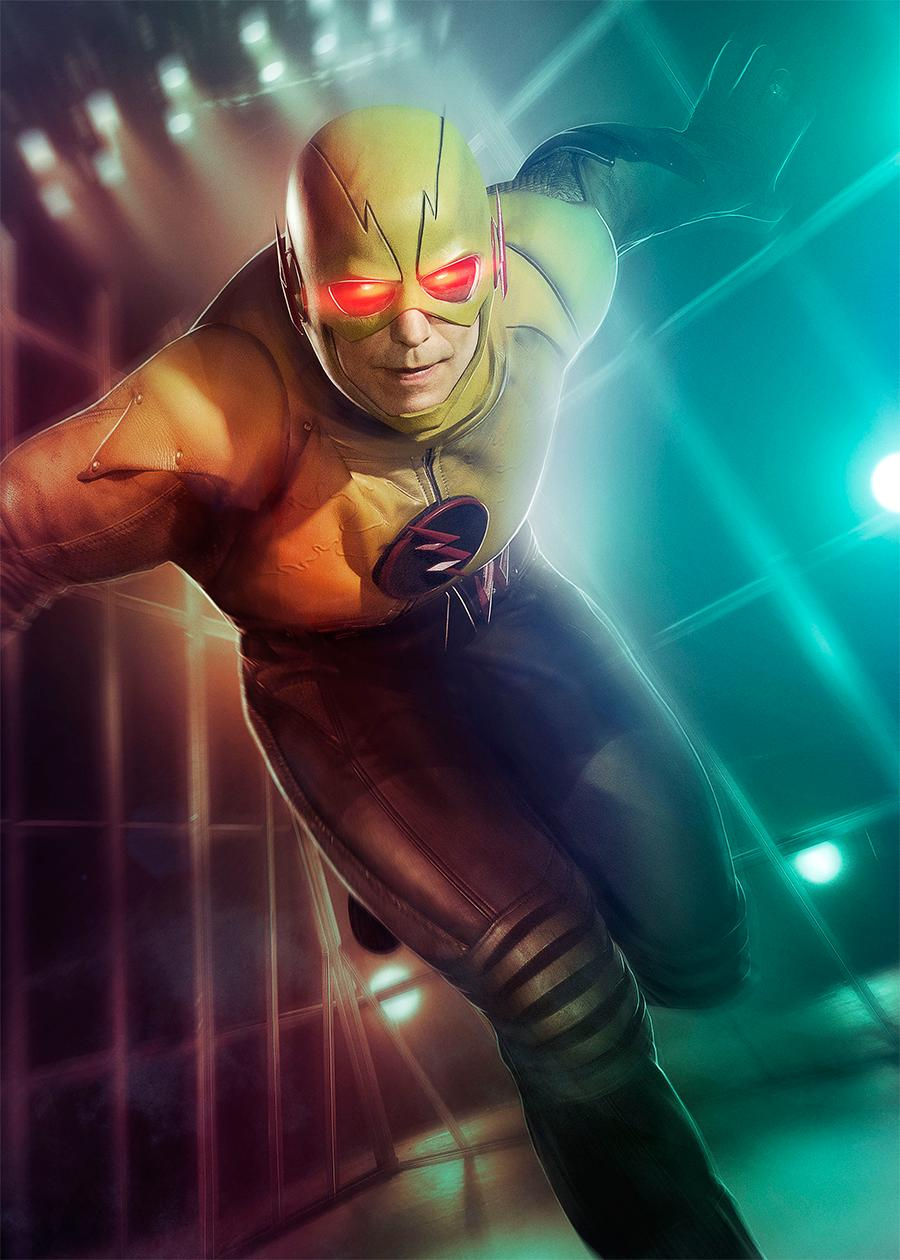 Reverse Flash Superhero Fight Club