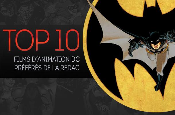 Top 10 (selon nous) #6 : films d'animation DC