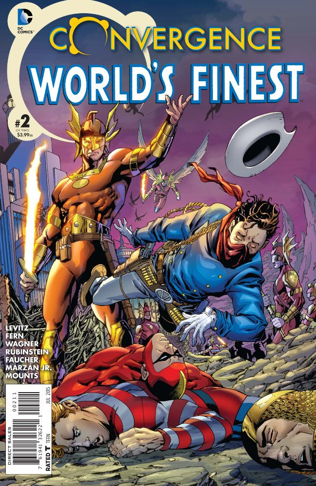 Preview Convergence : World's Finest Comics #2