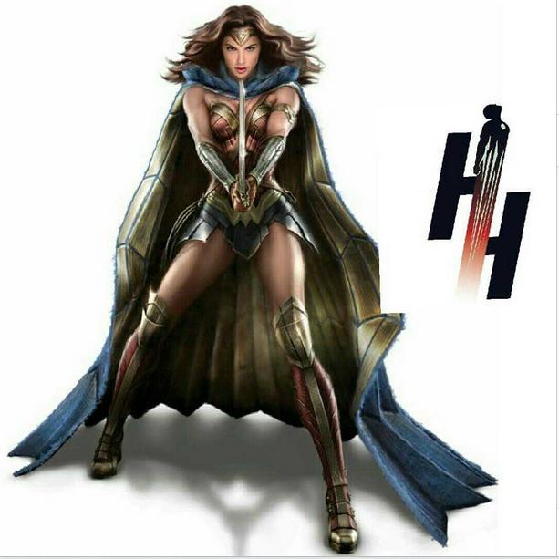 Artwork Wonder Woman de Batman V Superman
