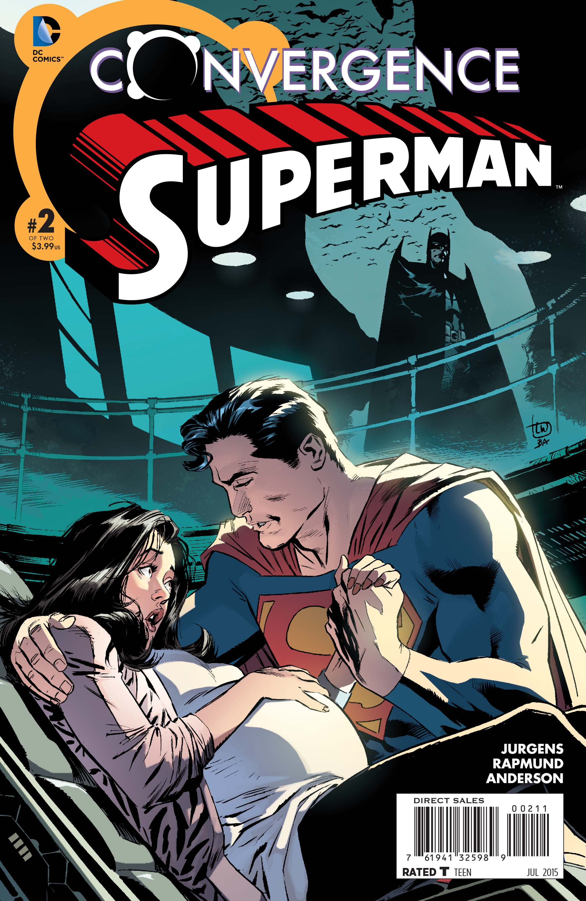 Preview Convergence : Superman #2