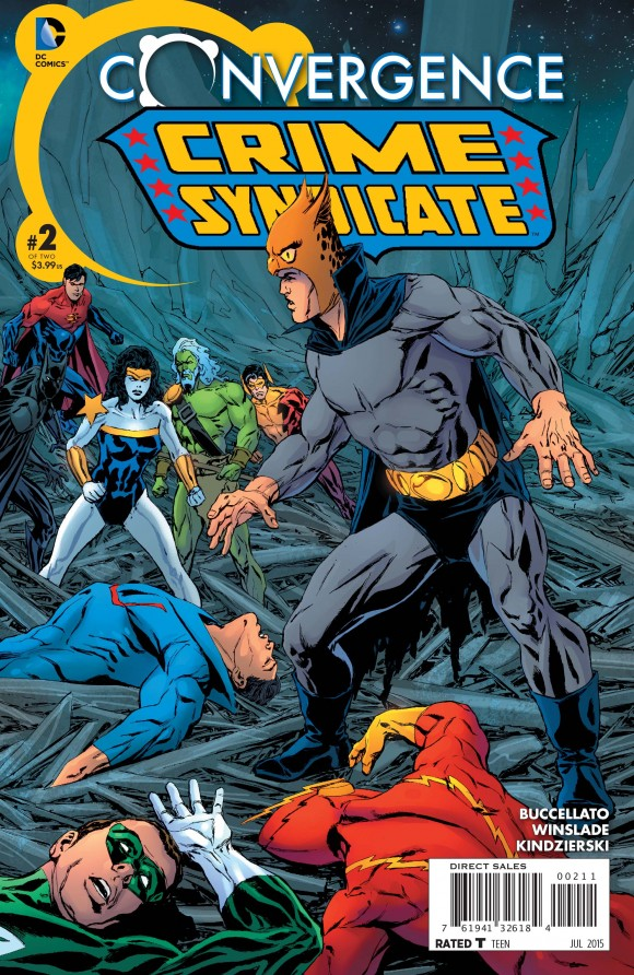 Preview VO - Convergence : Crime Syndicate #2