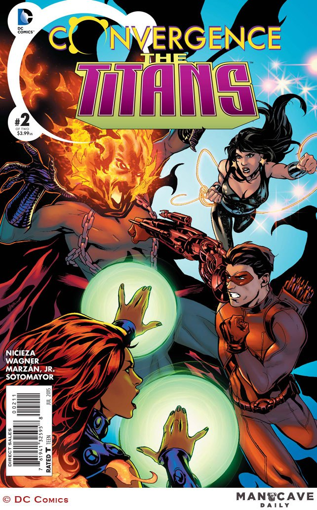 Preview Convergence : Teen Titans #2
