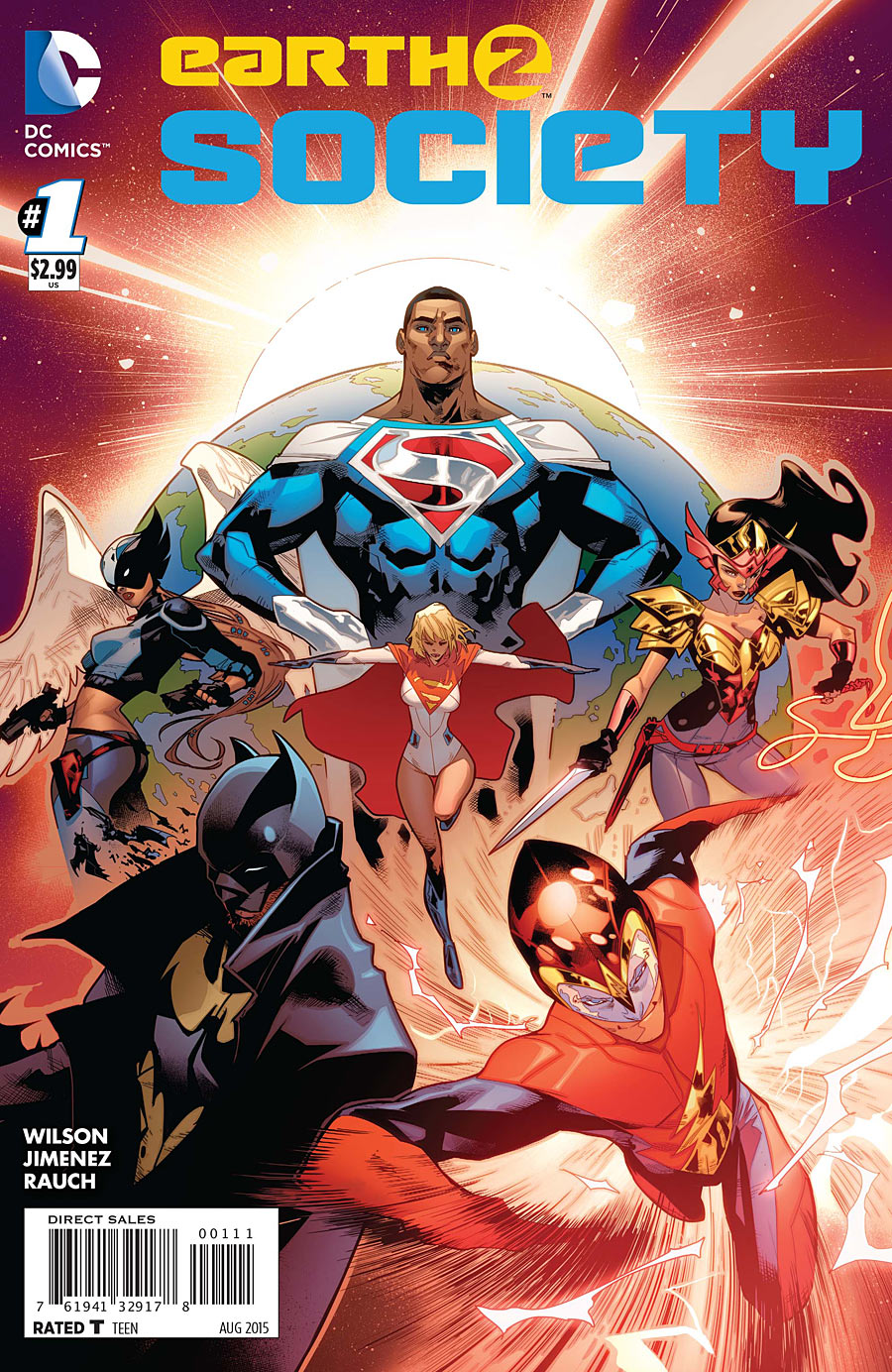 Review Earth 2 Society #1