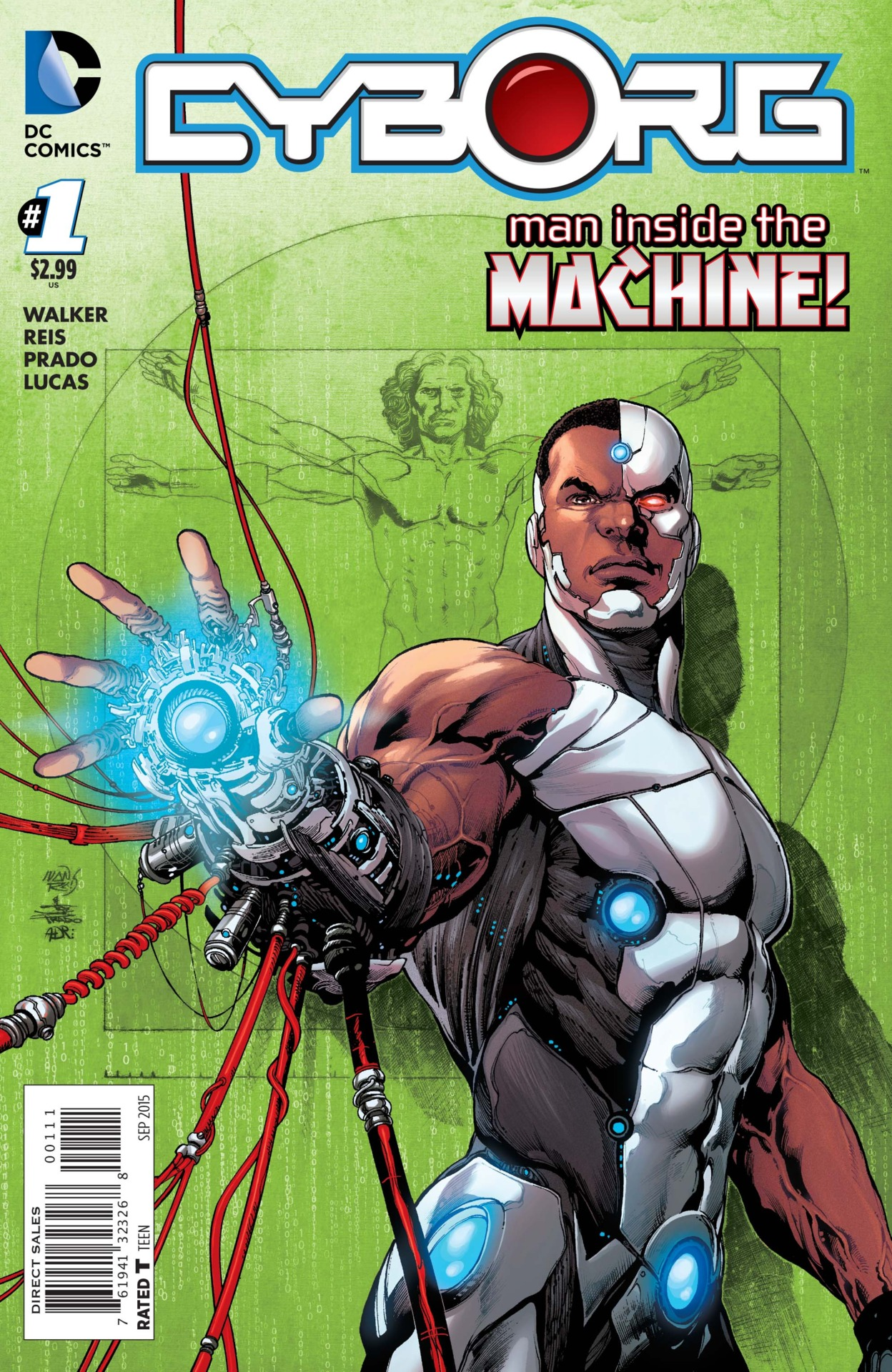 Cyborg #1 preview