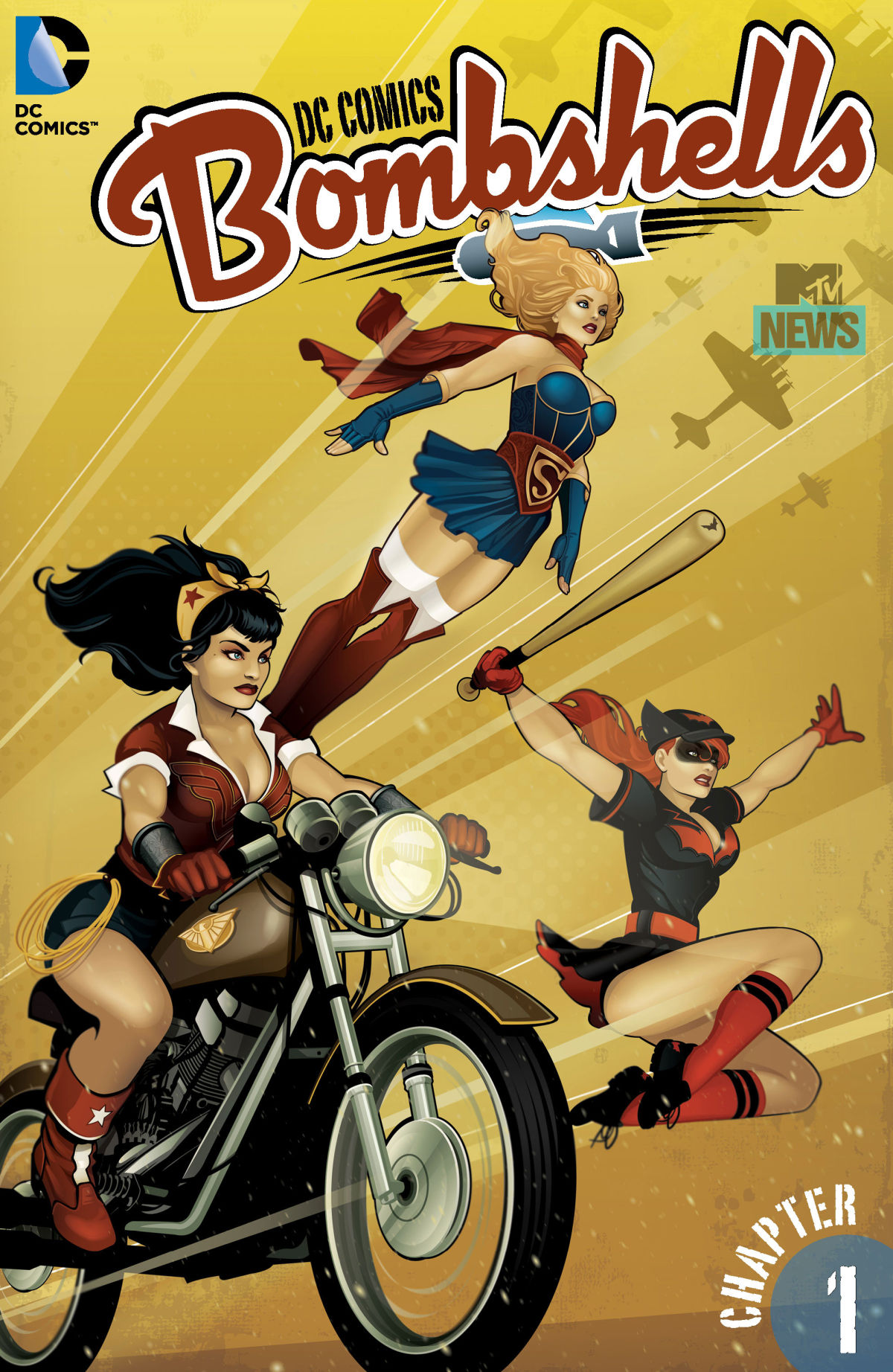 Preview DC Comics Bombshells #1