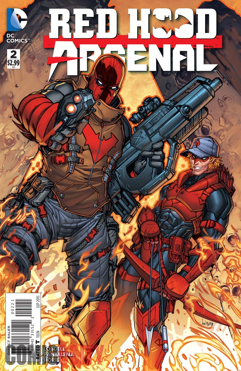 Preview Red Hood/Arsenal #2