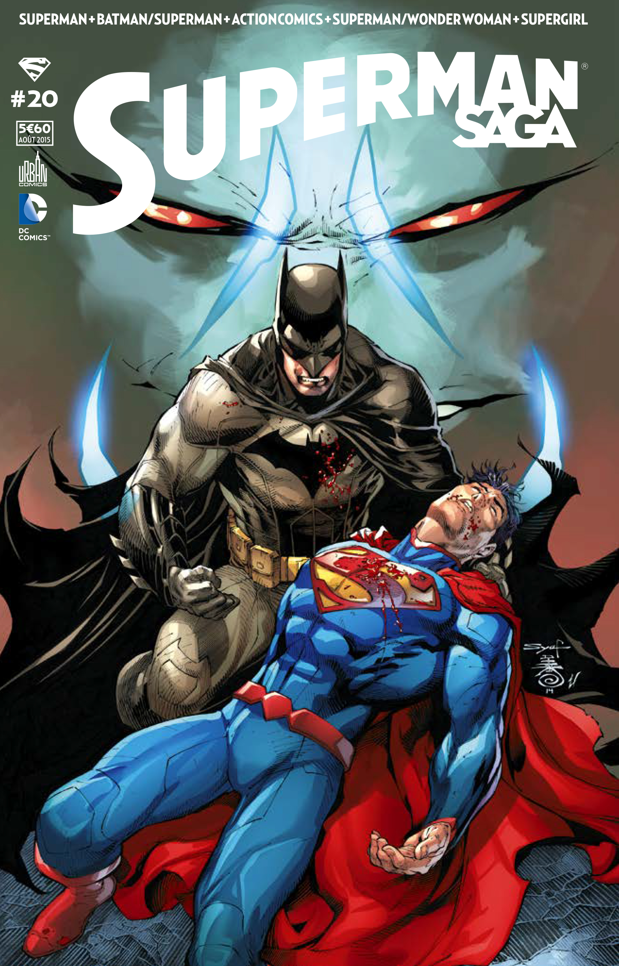 superman saga #20 critique