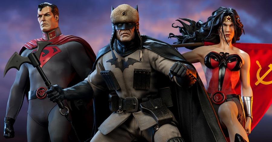 Sideshow dévoile sa statuette Batman : Red Son   DCPlanet.fr Red Son Justice League
