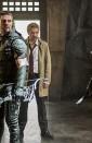L'arrivée de Constantine dans Arrow s'illustre en photos 29