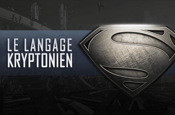 Le langage kryptonien