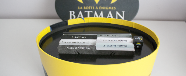 La boîte à énigmes Batman par Marabout