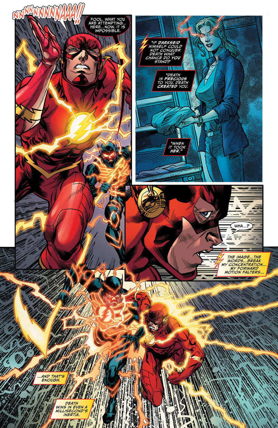 preview vo justice league darkseid war the flash 1