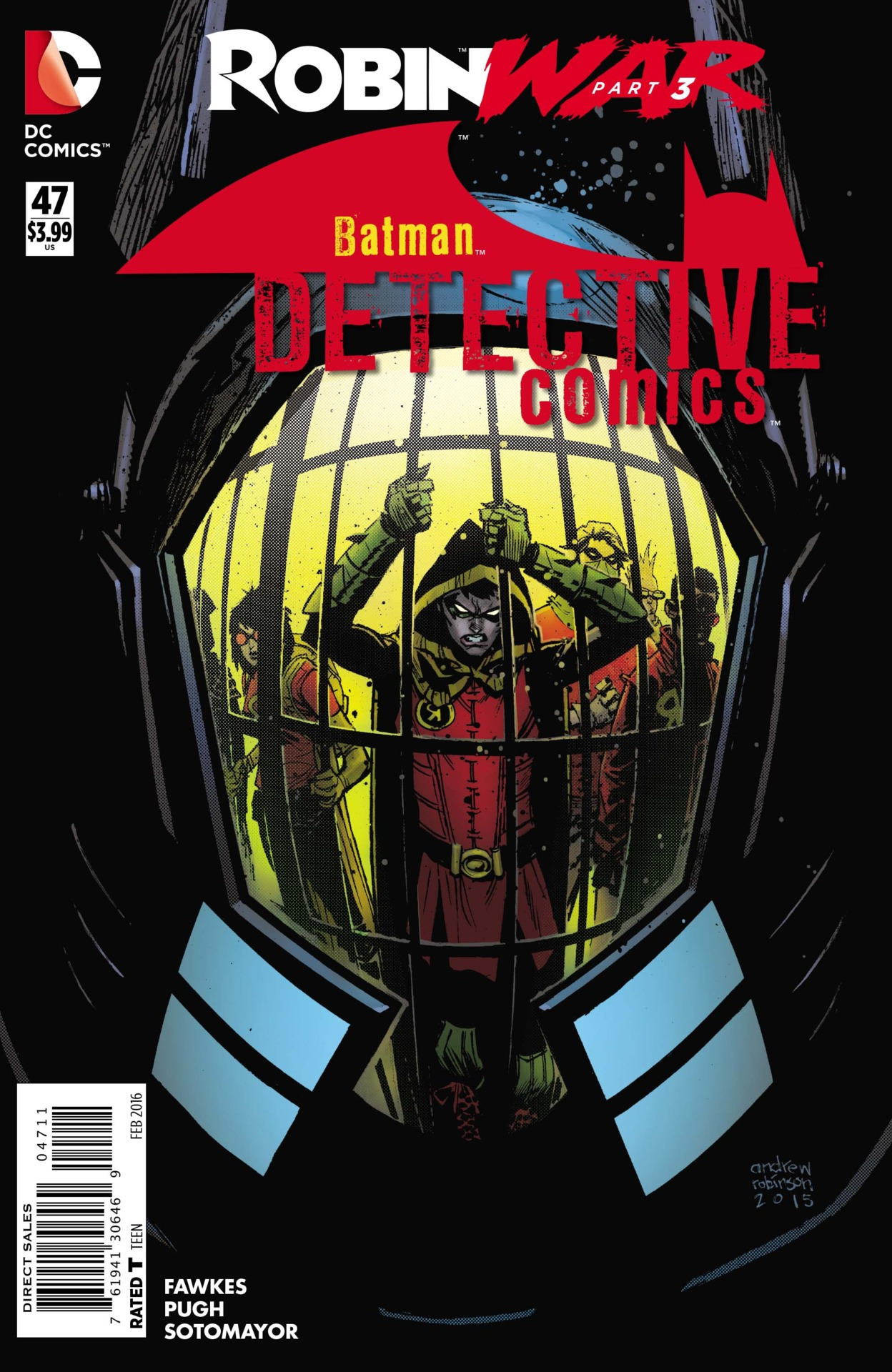 Detective Comics Tome 47 New 52 DC Comics French
