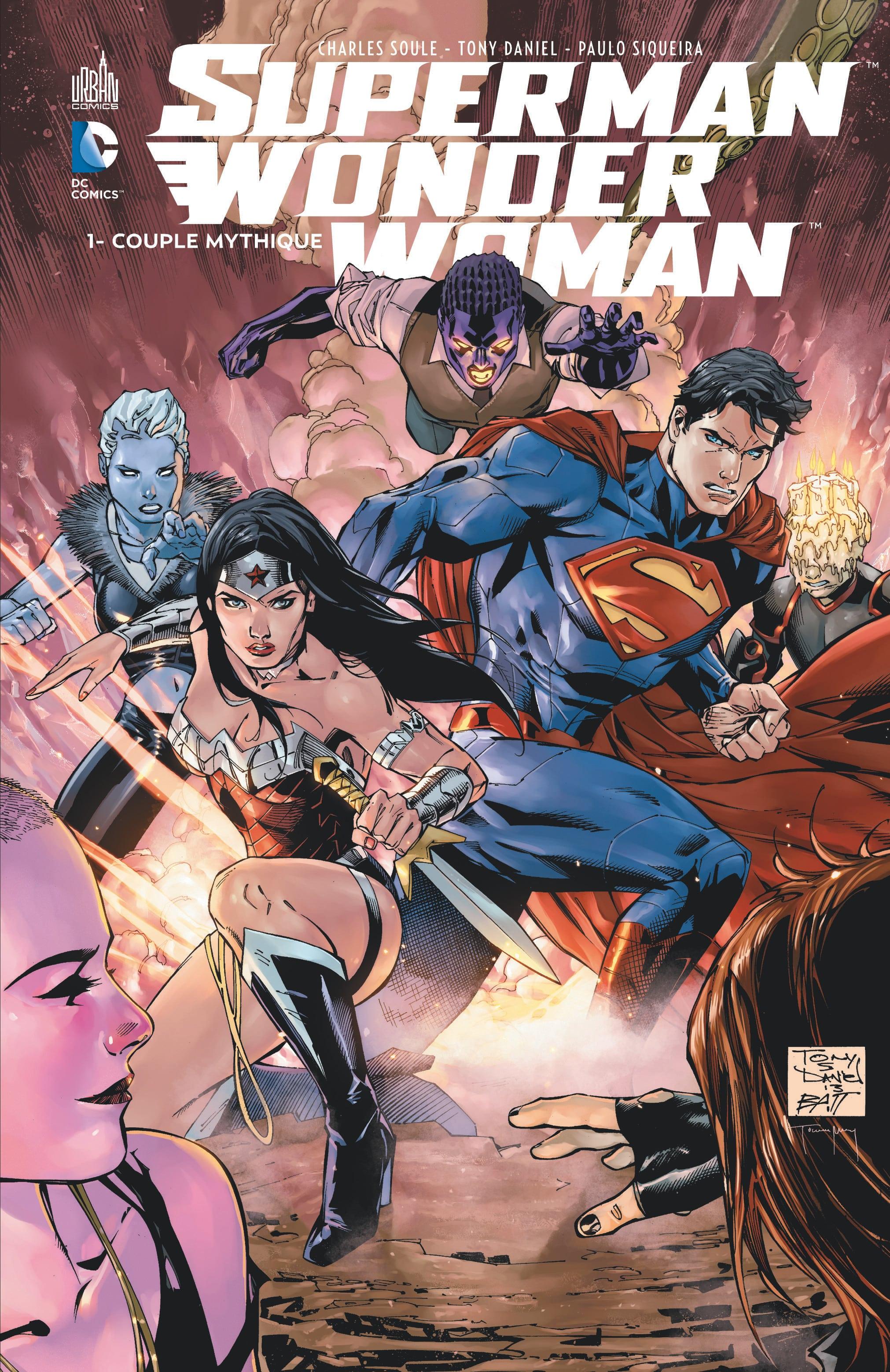 Dc Comics Superman And Wonder Woman