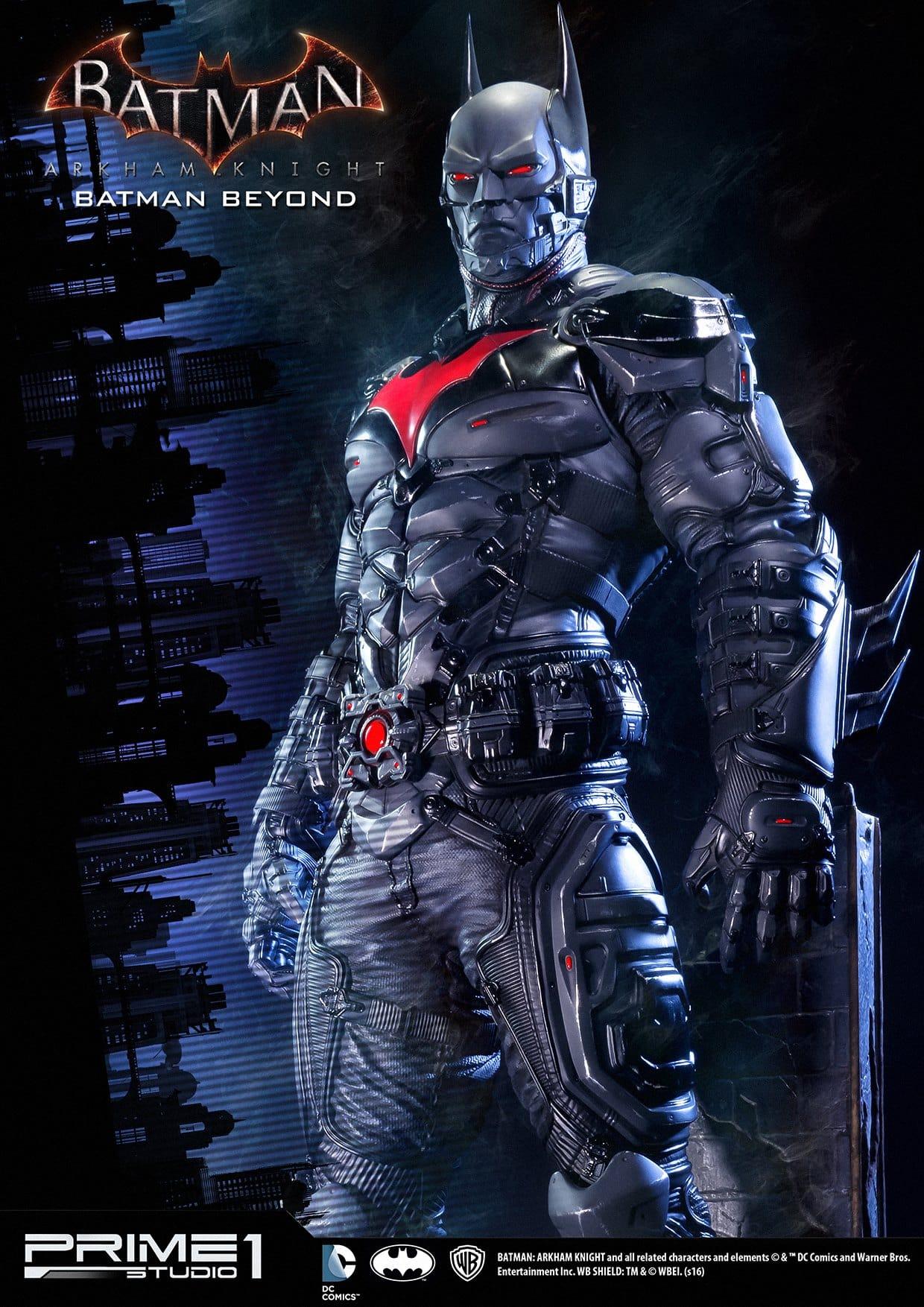 Prime 1 Studios dévoile sa statuette Batman : Arkham Knight – Batman Beyond