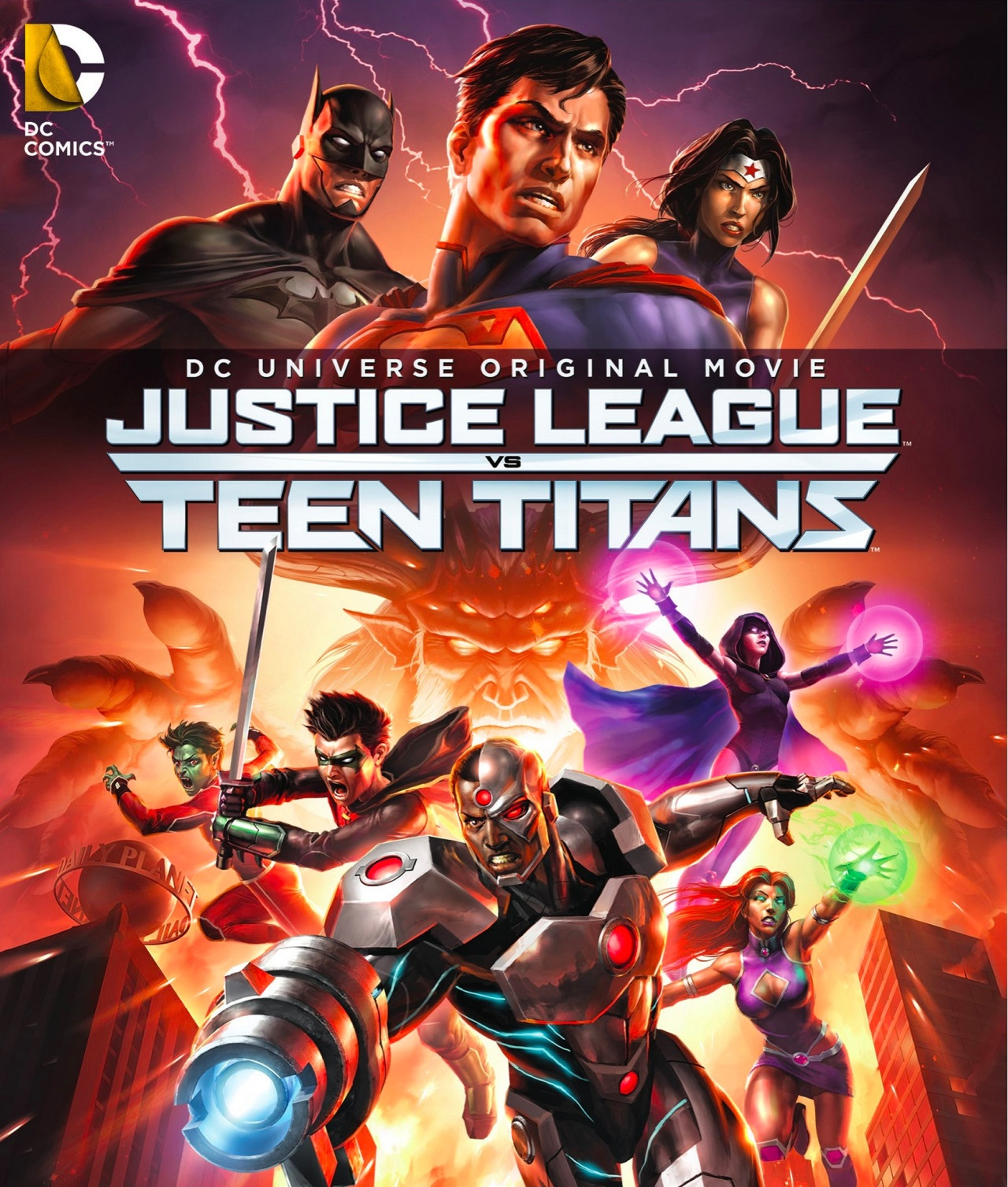 Review Justice League vs. Teen Titans
