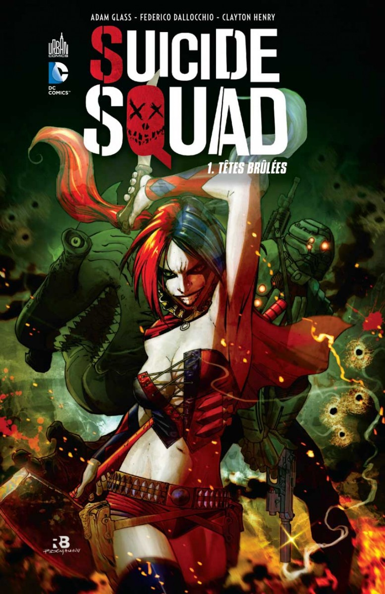 Preview Suicide Squad Tome 1