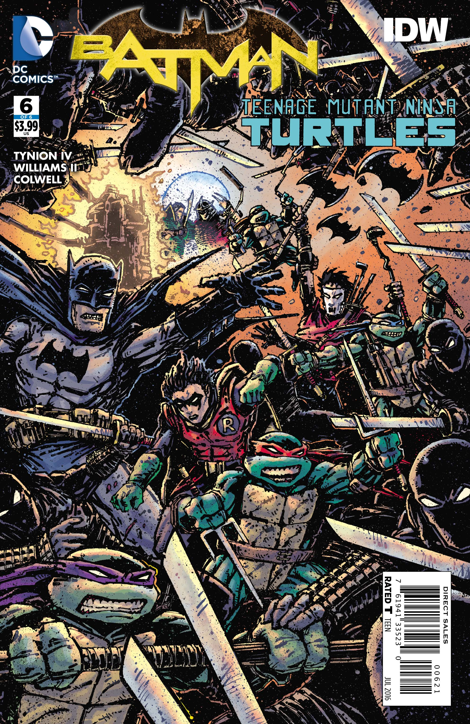 Preview VO - Batman/TMNT #6, dernier numéro ! | DCPlanet.fr Ben Affleck Batman