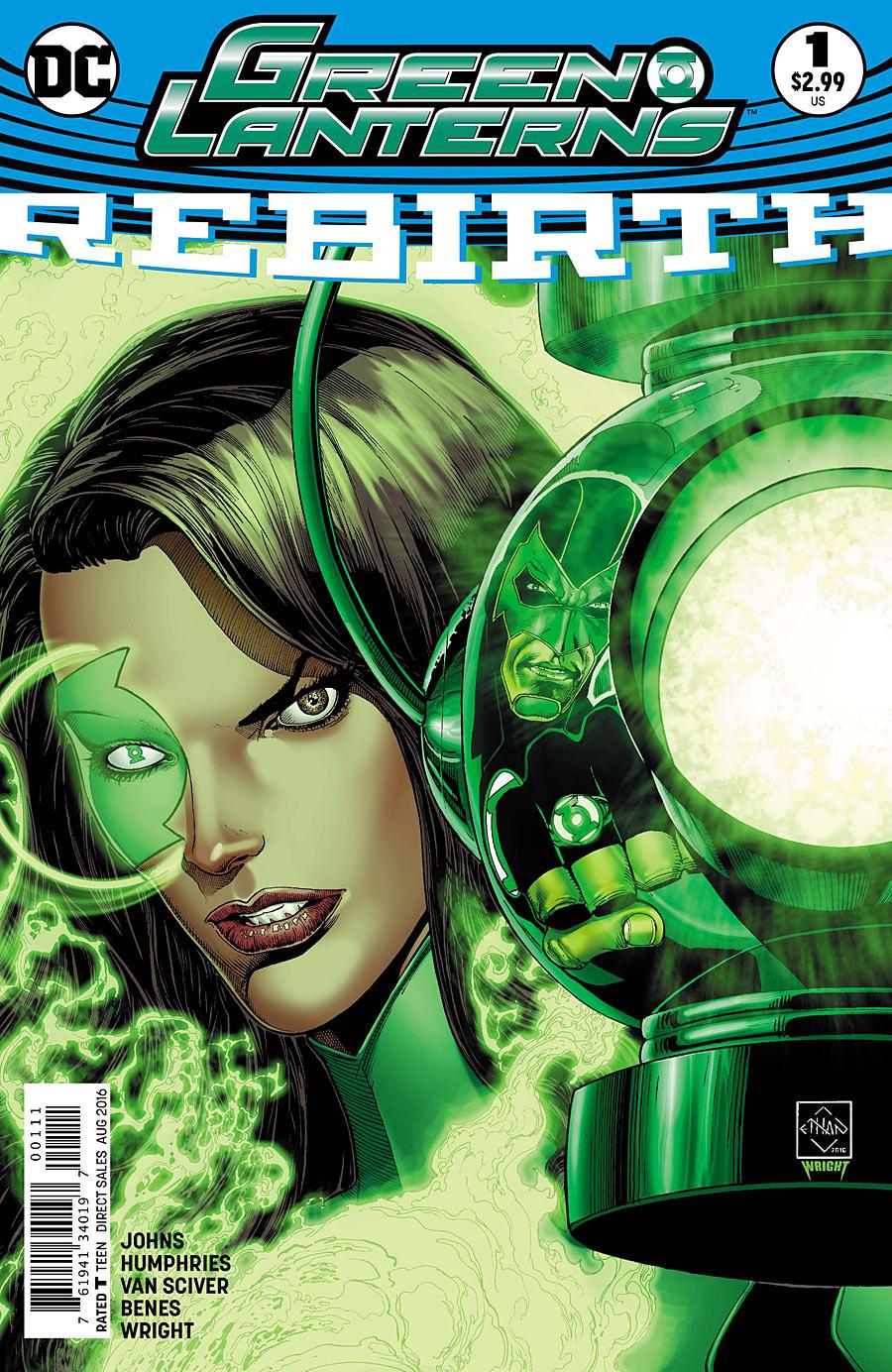 Preview Green Lanterns : Rebirth #1