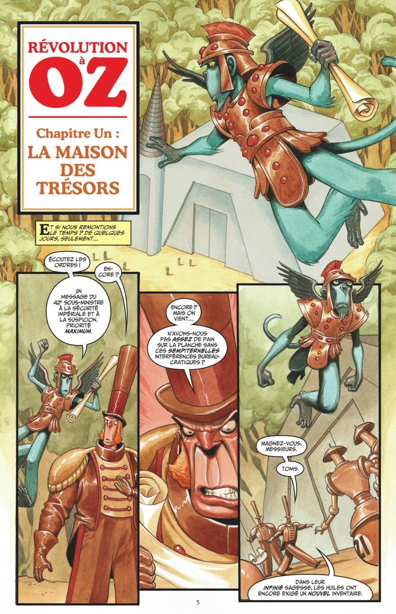 Review Fables Tome 20