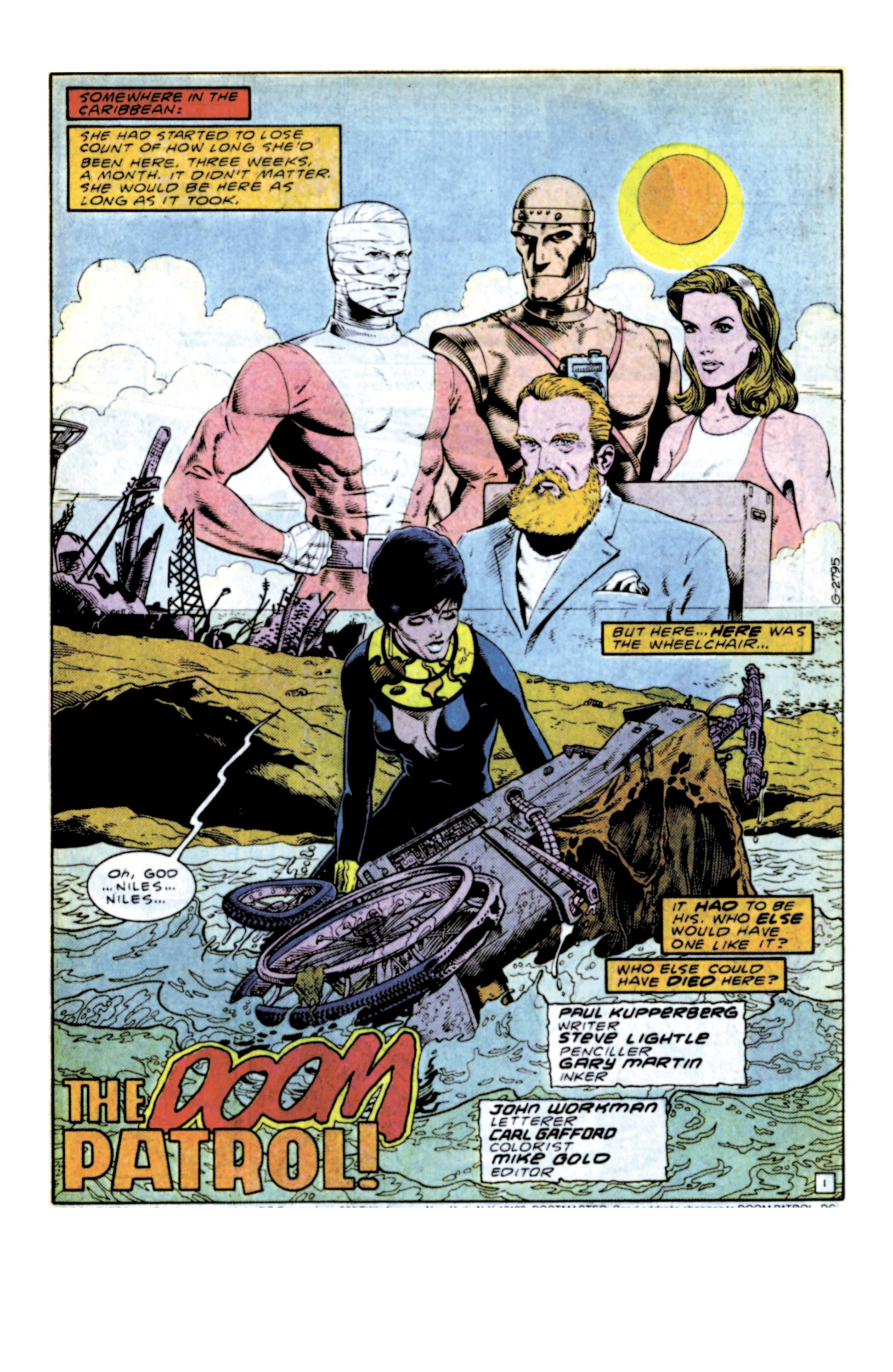Showcase #128 - Doom Patrol #1 (1987) 1