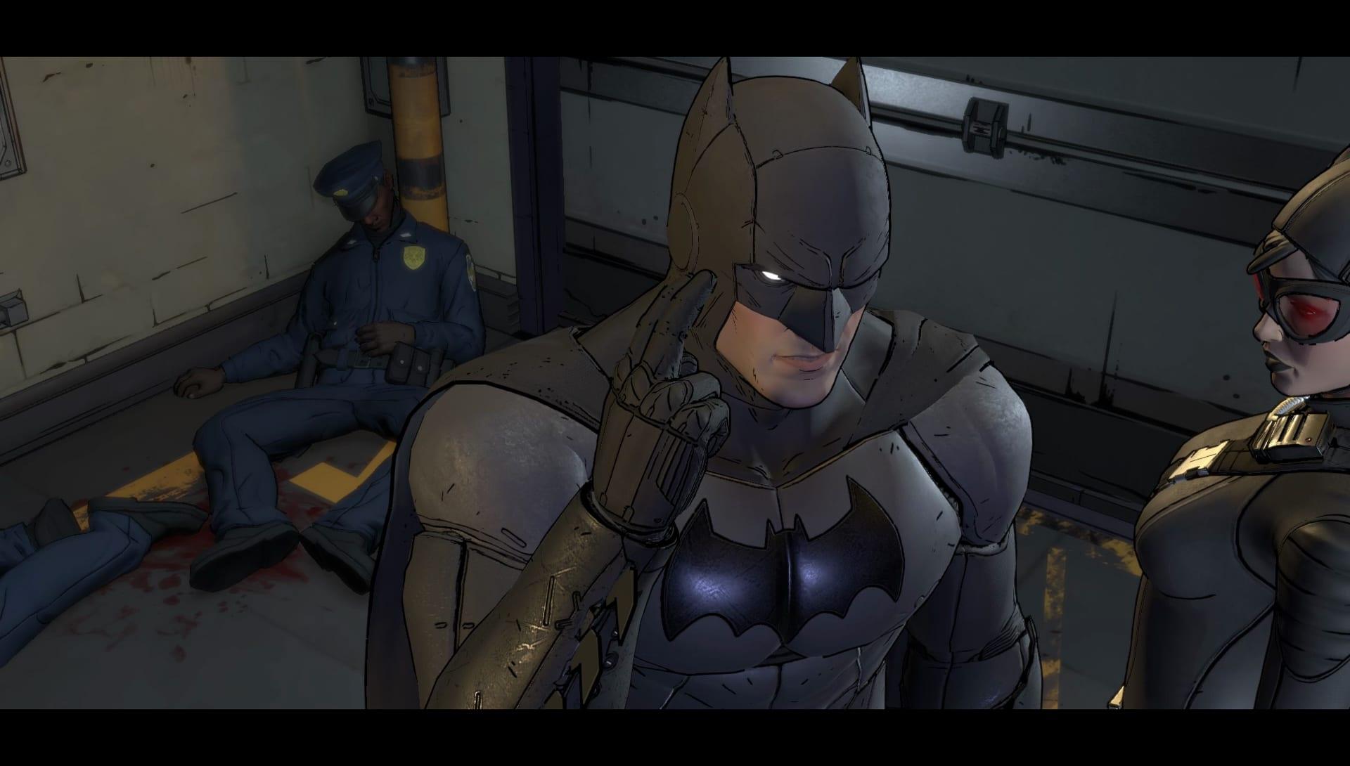 Test – BATMAN : The Telltale Series episode #2 2