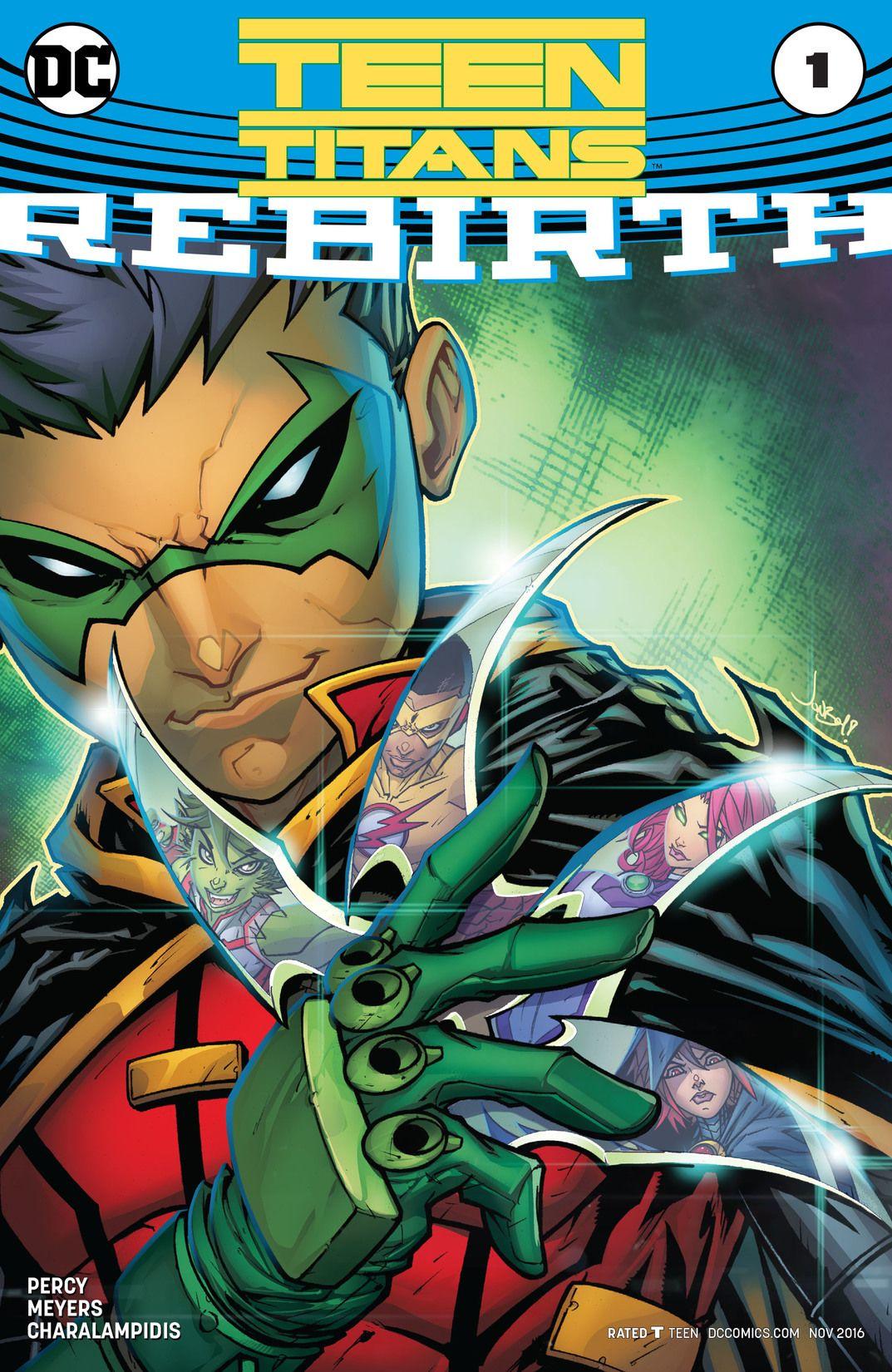 Preview VO - Teen Titans : Rebirth #1 1