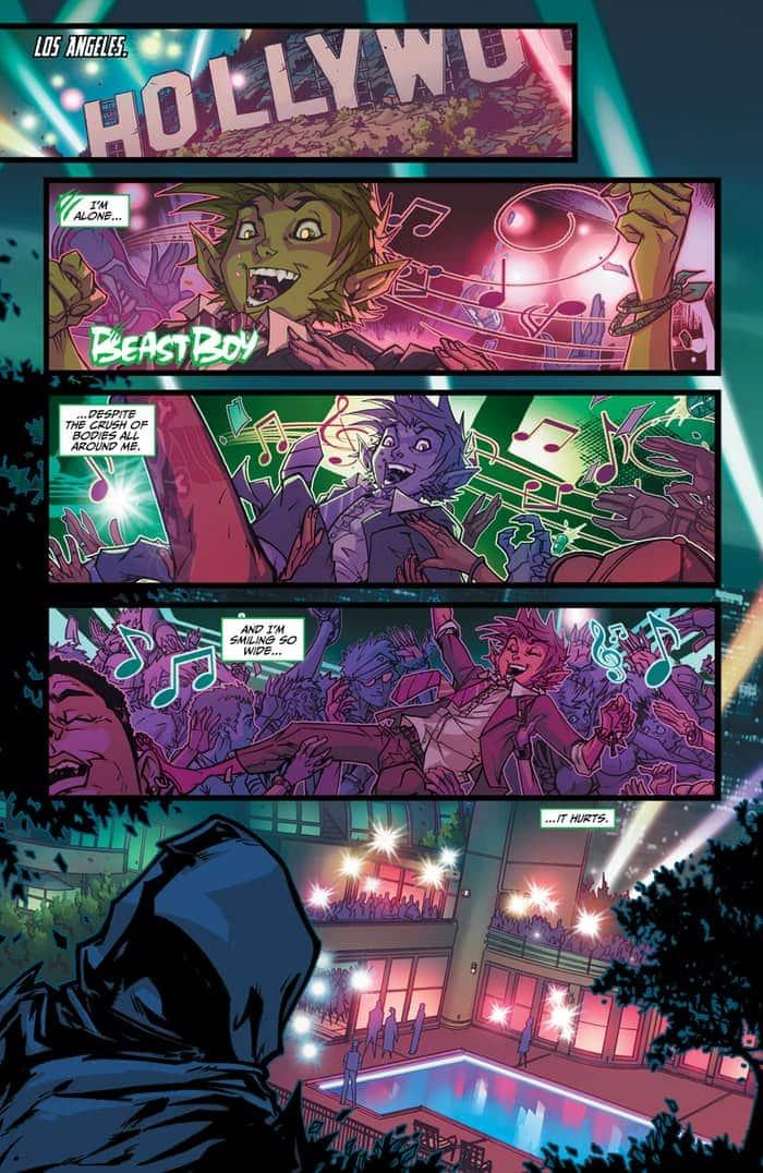 Preview VO - Teen Titans : Rebirth #1 3