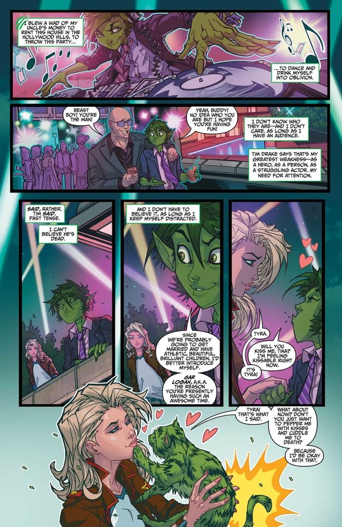 Preview VO - Teen Titans : Rebirth #1 4