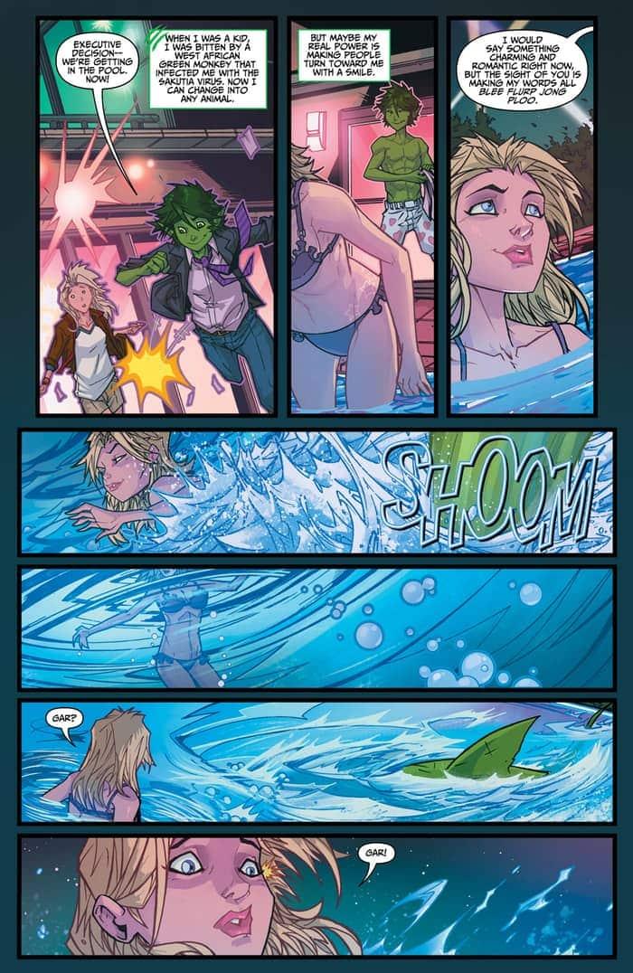 Preview VO - Teen Titans : Rebirth #1 5