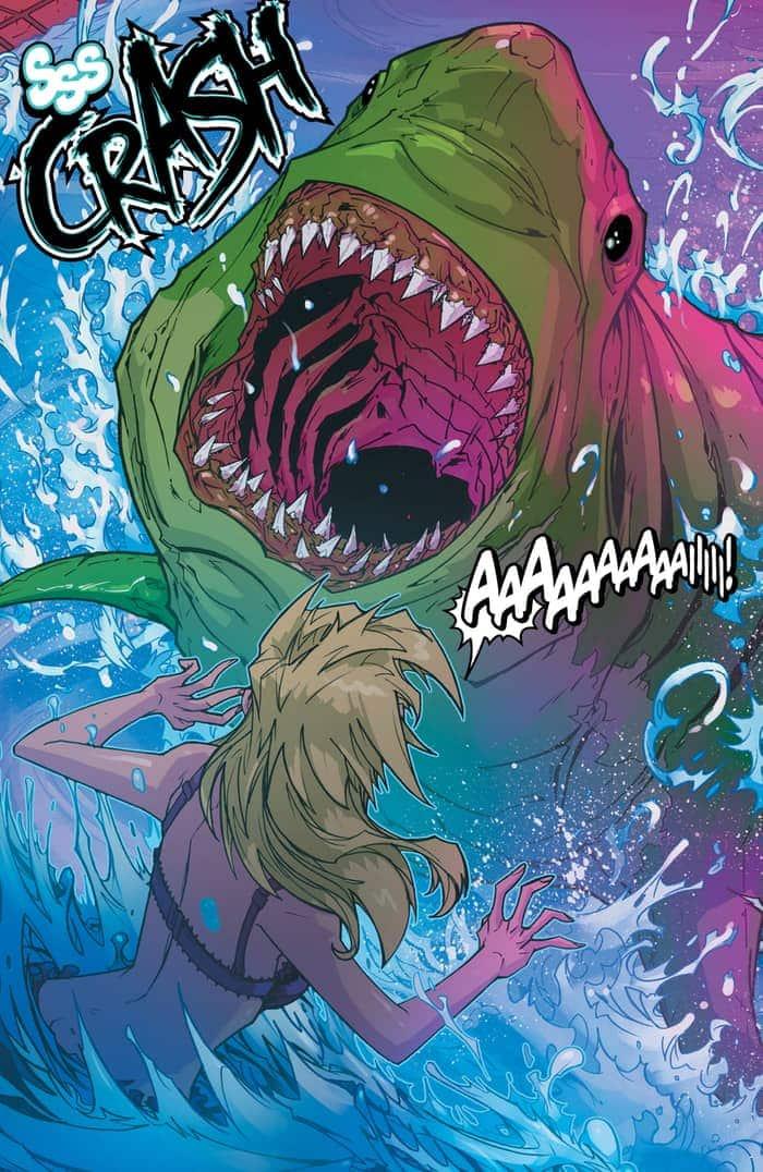 Preview VO - Teen Titans : Rebirth #1 6