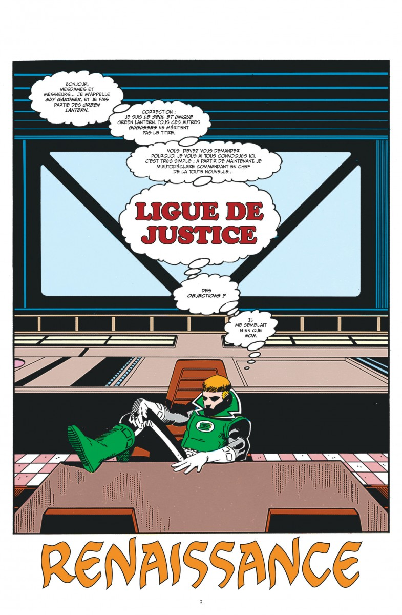 Review VF - Justice League International tome 1 1