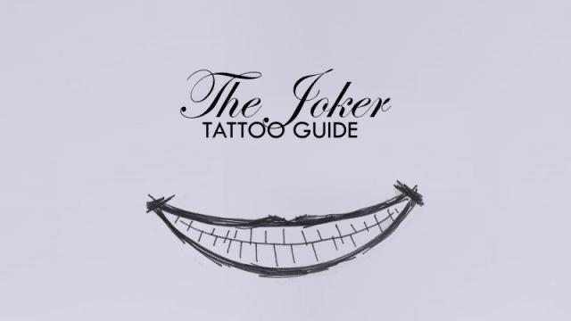 Un Meilleur Apercu Des Tatouages Du Joker Dans Suicide Squad
