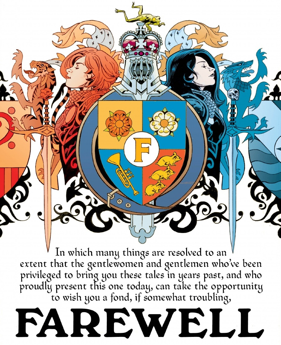 Review Fables Tome 23