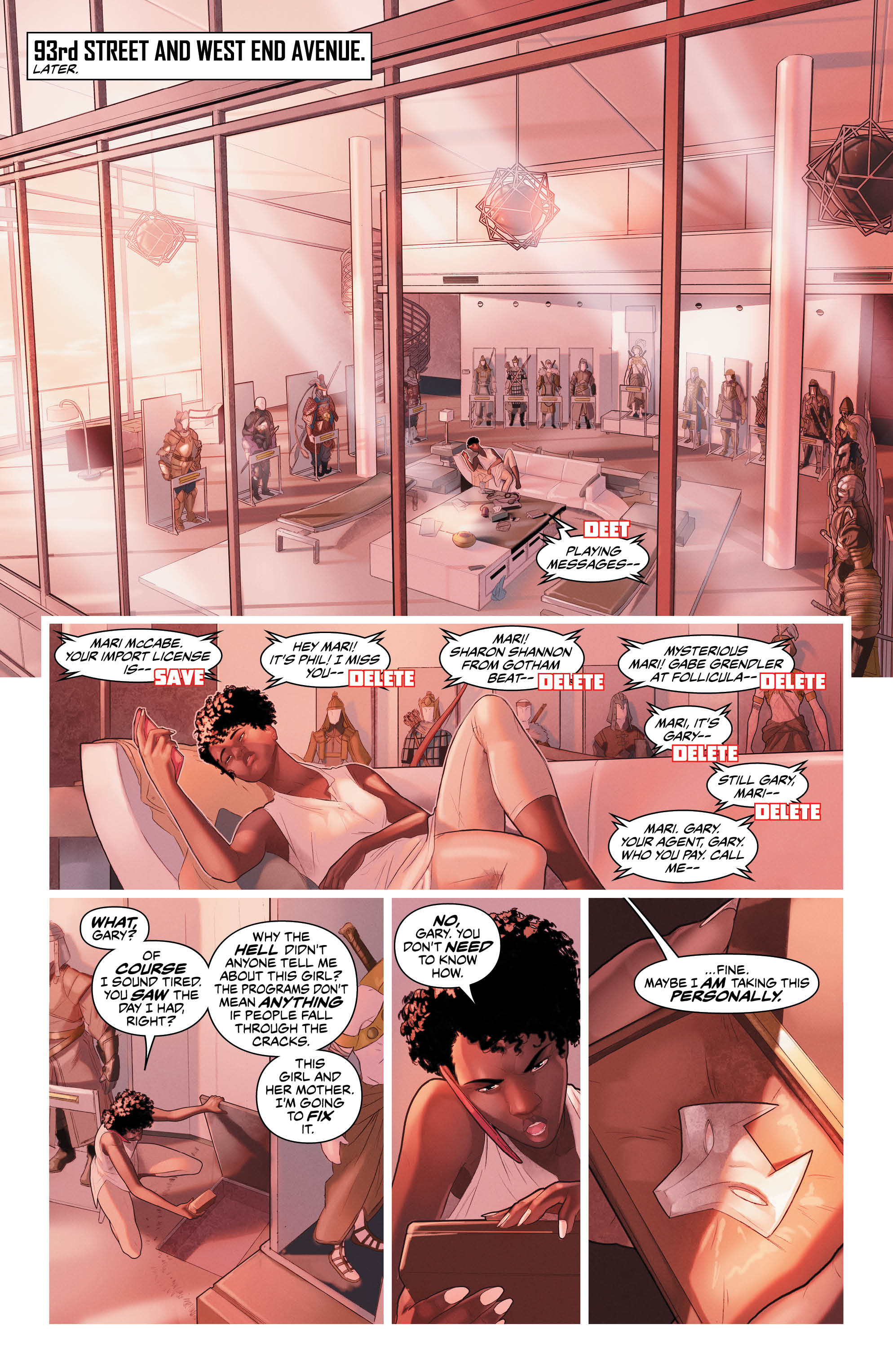 Preview Justice League of America : Vixen Rebirth #1