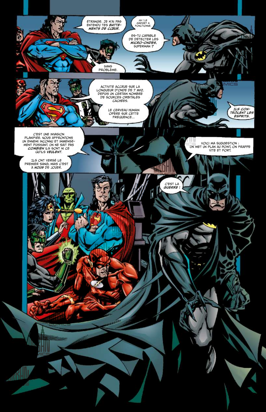 Review VF - Justice League of America tome 1 : Le nouvel ordre mondial 1