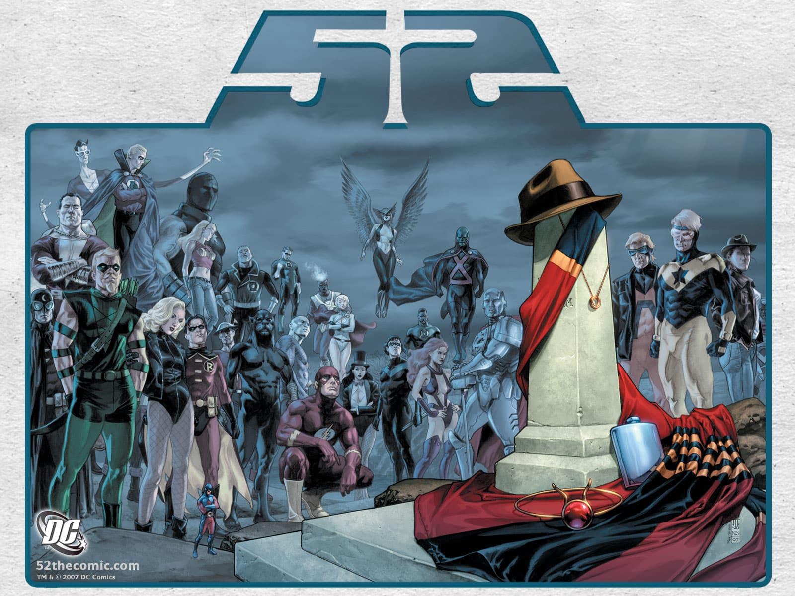 Contexte Comics 52-dc-comics