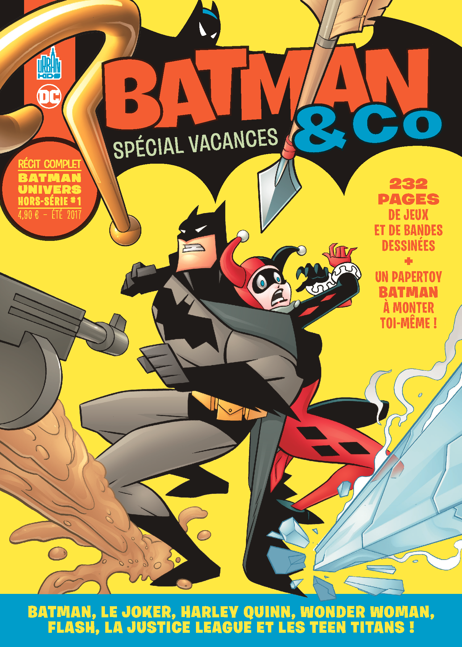 urban comics annonce un kiosque estival  u0026quot batman  u0026 co