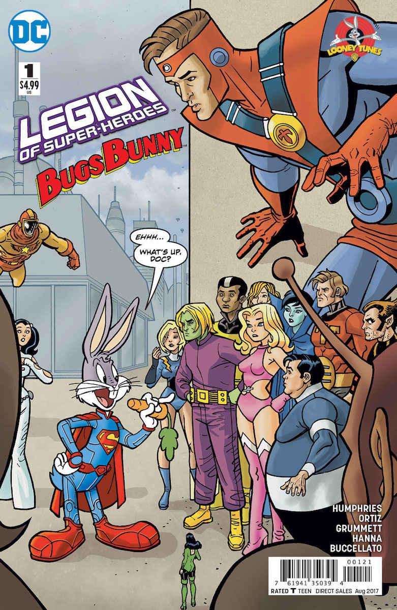 DC Comics New Looney Tunes Crossovers Are Delightfully
