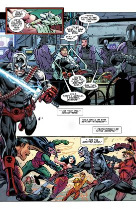 Preview VO - Teen Titans Annual : the Lazarus Contract #1 6