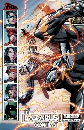 Preview VO - Teen Titans Annual : the Lazarus Contract #1 5