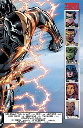 Preview VO - Teen Titans Annual : the Lazarus Contract #1 4