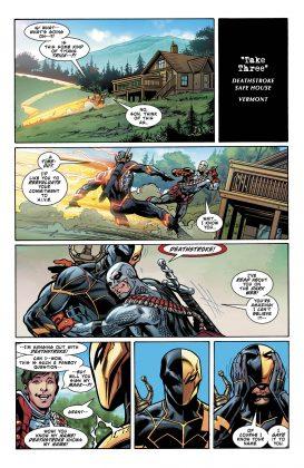 Preview VO - Teen Titans Annual : the Lazarus Contract #1 3