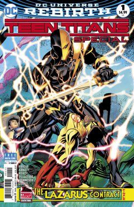 Preview VO - Teen Titans Annual : the Lazarus Contract #1 1
