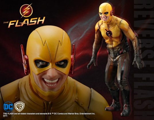 Kotobukiya présente leur statuette de Reverse-Flash version CW 1