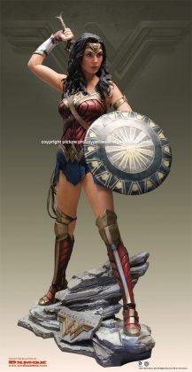 Studio Oxmox présente leur statue taille réelle de Wonder Woman 1